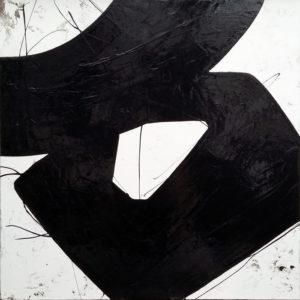 Peintures informelles .CALI REZO galerie Outreloire 17 rue Ferdinand Gambon 58000 NEVERS