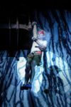 Performance circassienne et acrobatique d'Antoine Le Ménestrel Place St Cécile Albi
