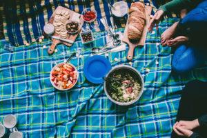 Pique-nique partagé aux saveurs d'été Parc Joseph Donat