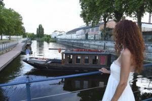Pique-nique sur la Vienne Mini-port de bateaux électriques
