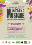 Plateau de l'Ecole de musique suivi de Groupes de Rock Centre commercial d'Aunis à Ferrières d'Aunis