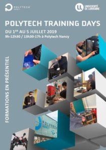 Polytech Training Days Polytech Nancy