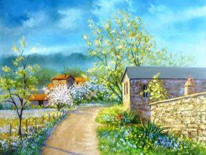 Portes ouvertes d'un atelier de peinture Atelier de peinture