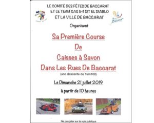 Première course de Caisses à savon Baccarat (54)