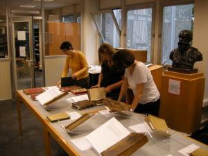 Présentation du fonds patrimonial de la BU des Tanneurs Bibliothèque universitaire de Lettres Arts et Sciences humaines
