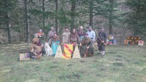 Campement médiéval Prieuré de Serrabona