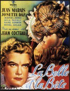 """Projection """"La Belle et la Bête"""" Musée Pierre-André Benoît"""
