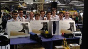 Projet GestualMove (Prix du 1er Ministre au concours Lépine Paris 2018) Village des Sciences