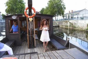 Promenade en bateau sur la Vienne Canal de la Manufacture