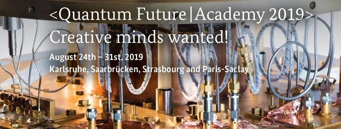 Quantum Future Academy Université Paris-Saclay - Lieu à préciser lors de votre prise de rendez-vous