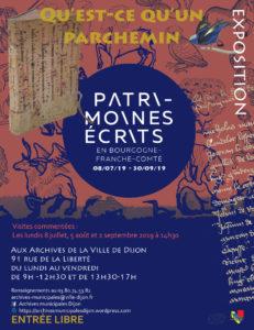 Qu'est-ce qu'un parchemin ? Archives municipales de Dijon