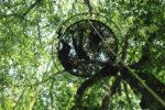 Relaxation dans les arbres Jardin des Cimes