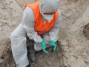 Résultats des chantiers archéologiques sur le site de l'ex-Sernam/Reims Grand Centre Le cellier