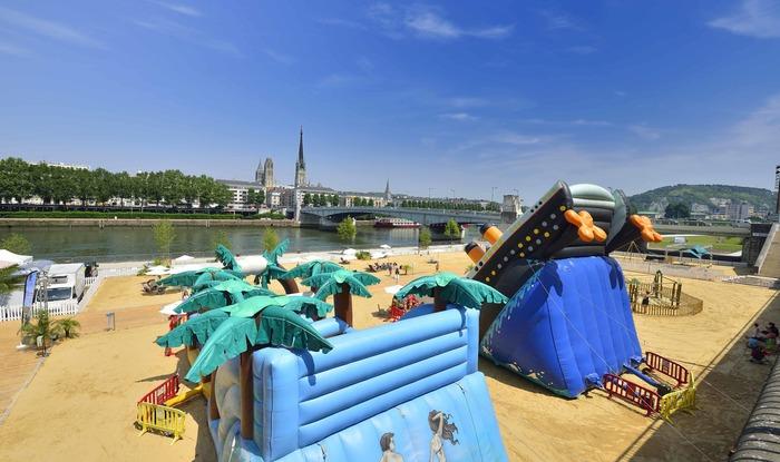 Rouen sur mer Quais rive gauche