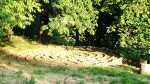 Labyrinthe énergétique de Samhain - Nouvel An Celte. Saint Saturnin