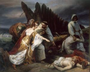 Savoir-faire : restauration du tableau d'Horace Vernet
