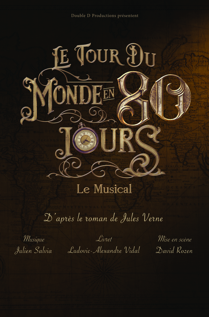 Spectacle : Le Tour du monde en 80 jours - Le Musical Palais des Congrès d'Issy