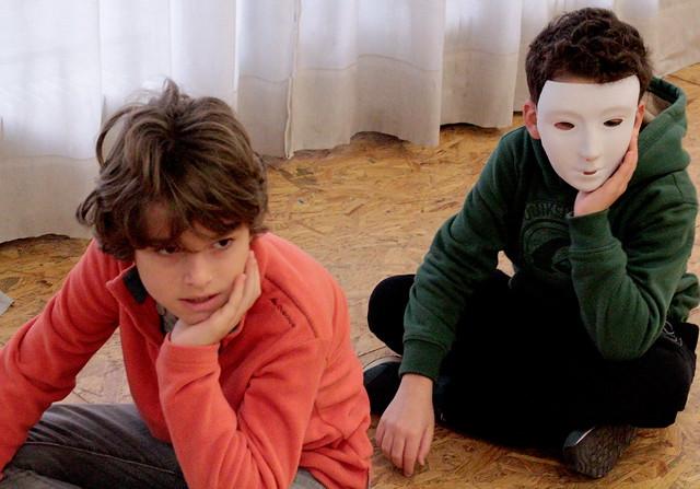 Stage Théâtre Enfants 8/12 ans Juillet Ecole Paris Marais Espace Bauchat