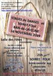 Stages de danses et Soirée Folk Salle des fêtes | Ban de Laveline