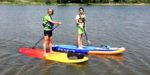 Stand up paddle Etang de la Forge