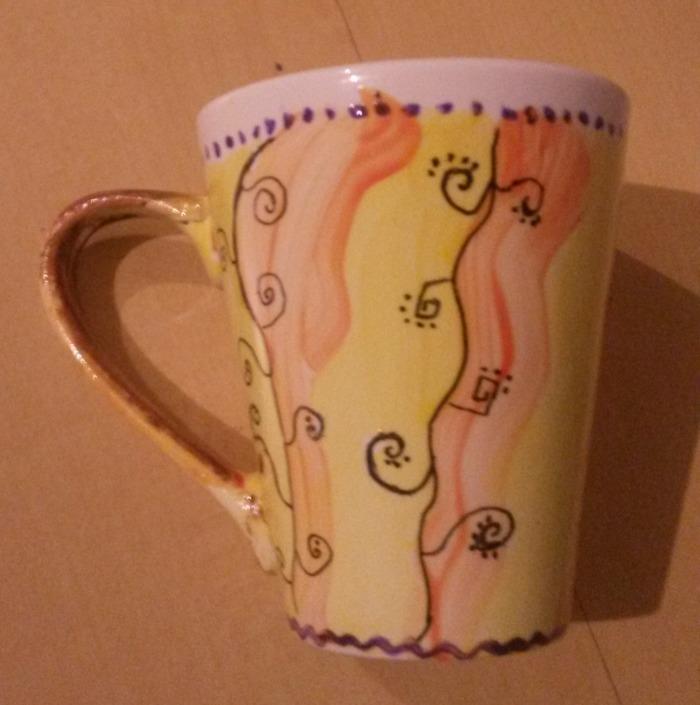 Tasse en céramique de 12h00 à 13h30 POT'&CO Atelier d'activités manuelles