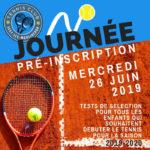 Tennis club d'Issy  -  Journée Pré-inscription Tennis Club d'issy-les-Moulineaux
