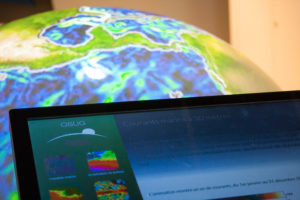 Terre et univers : observer pour comprendre hall muséographique de l'OSUG