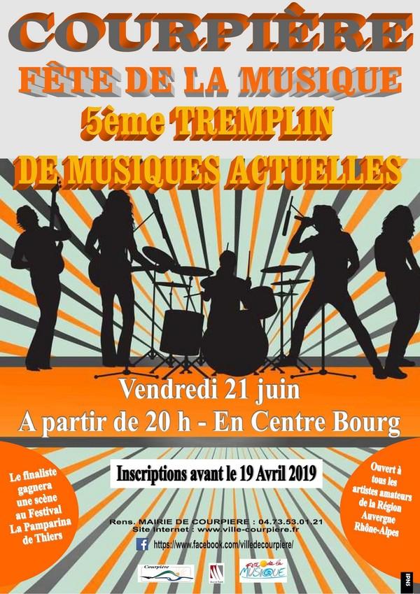 Tremplin de musiques actuelles Place de la Victoire