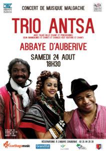 Trio Antsa abbaye d'Auberive