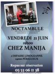Trio Noctambule Chez Manija - Perigueux