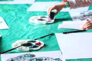 Trop choux ! Atelier peinture nature Maison écocitoyenne