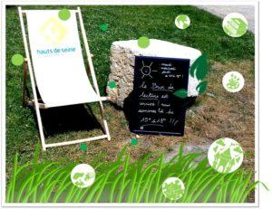 Brin de lecture : livres et animations estivales en plein air Ile Saint-Germain