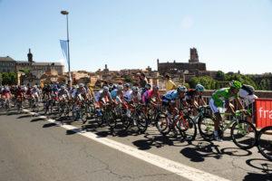 Vélo : l'Albigeoise Place du Vigan