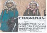 Vernissage exposition de DESSINS Bistrot de la Halle