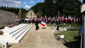 77ème cérémonie commémorative de l'attaque du Maquis de Lorris 2021-08-08 Lorris