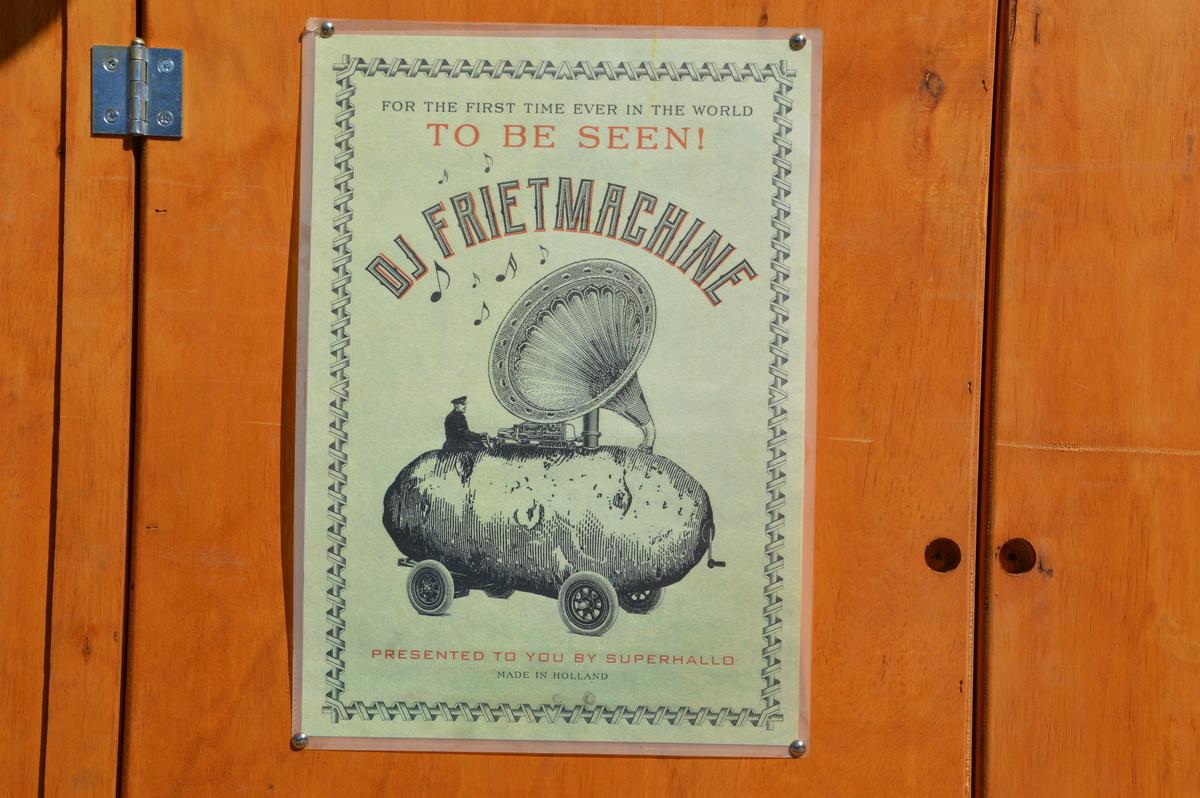 DJ FRIETMACHINE. QUAND LA MUSIQUE TE DONNE LA FRITE