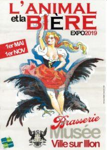 EXPOSITION L'ANIMAL ET LA BIÈRE - ÉCOMUSÉE VOSGIEN DE LA BRASSERIE VILLE SUR ILLON 2019-10-30