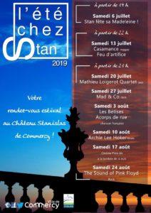FESTIVAL L'ETE CHEZ STAN Commercy Meuse  2020-08-01