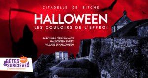 """""""LES COULOIRS DE L'EFFROI"""" : HALLOWEEN À LA CITADELLE DE"""