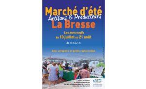 MARCHÉ D'ÉTÉ La Bresse   2020-07-08