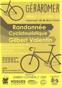 RANDONNEE CYCLO TOURISME Gérardmer