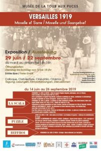 VERSAILLES 1919 - PROJECTION FILMS Thionville