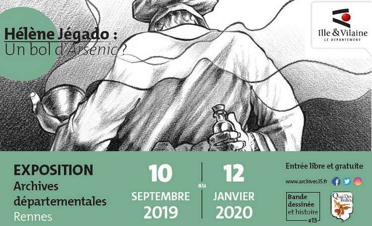 RENNES EXPO. LA JÉGADO AUX ARCHIVES DÉPARTEMENTALES : FLEUR DE TONNERRE SERIAL KILLEUSE BRETONNE