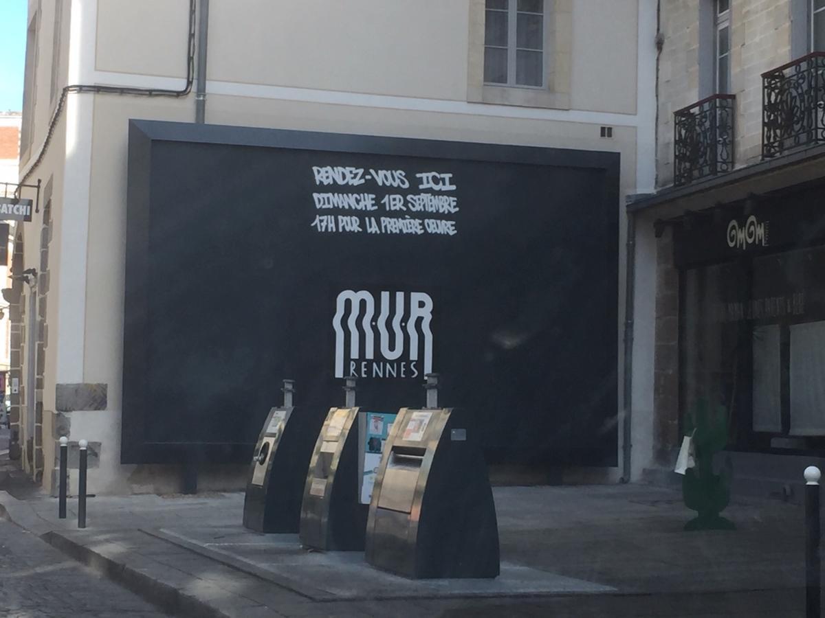 MUR rue Vasselot Rennes
