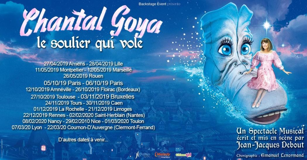 Chantal Goya - Le soulier qui vole TROYES 2020-02-09