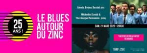 Festival LE BLUES AUTOUR DU ZINC Beauvais   2020-03-21