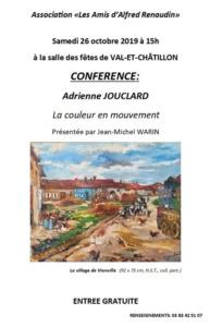 CONFERENCE 'ADRIENNE JOUCLARD
