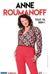 ONE WOMAN SHOW - ANNE ROUMANOFF TOUT VA BIEN THIONVILLE 2020-03-13