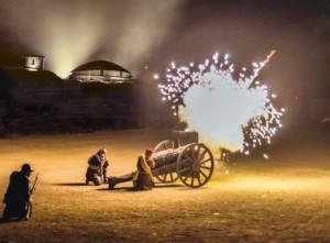 SPECTACLE DES FLAMMES À LA LUMIÈRE Verdun   2020-06-19