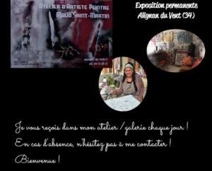 """ARTMAUDART"" - EXPOSITION PERMANENTE ALIGNAN DU VENT 20180101"